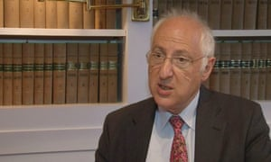 Lord Carlile, who has been appointed to lead an independent review of the controversial Prevent counter-terrorism programme.