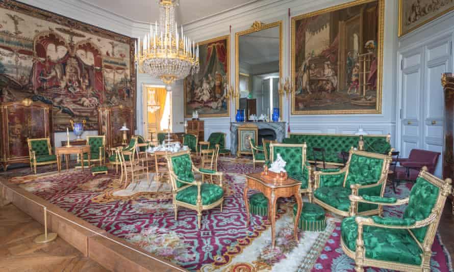 Château de Compiègne's opulent interior