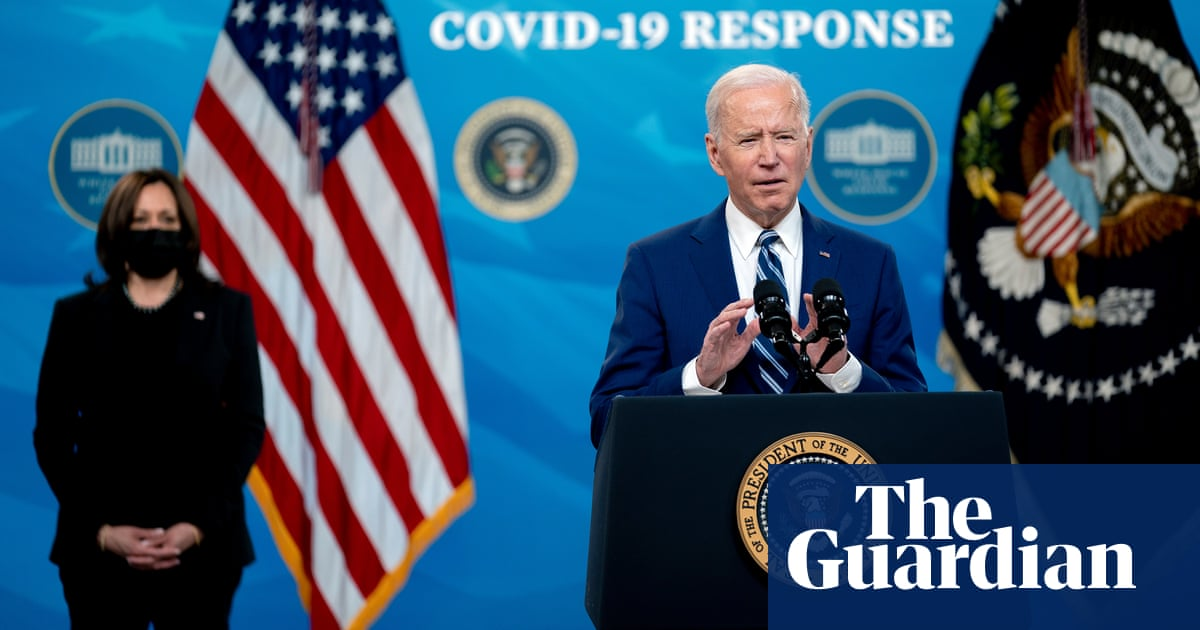 Biden says up to 90% of adults will be eligible for Covid vaccine by 19 四月