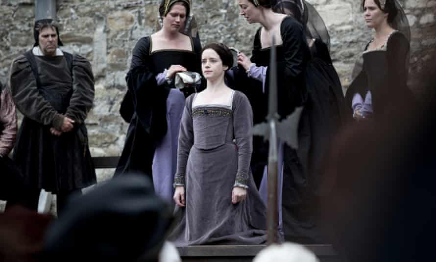 Anne Boleyn, played by Claire Foy, in the TV adaptation of Wolf Hall.