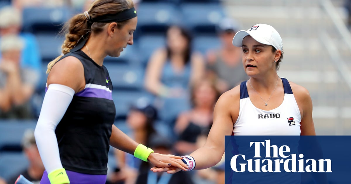 Ash Barty edges closer to back-to-back US Open doubles titles
