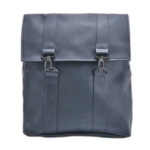 dark blue rucksack Rains