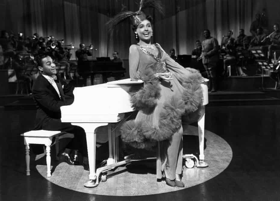 Lena Horne in Stormy Weather (1943).