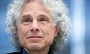 On the bright side of life … Steven Pinker.