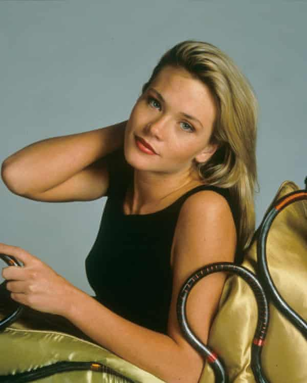Locane in a PR shot for Melrose Place.