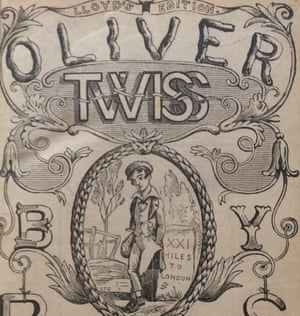 Weird doppelganger … Edward Lloyd's Oliver Twiss.