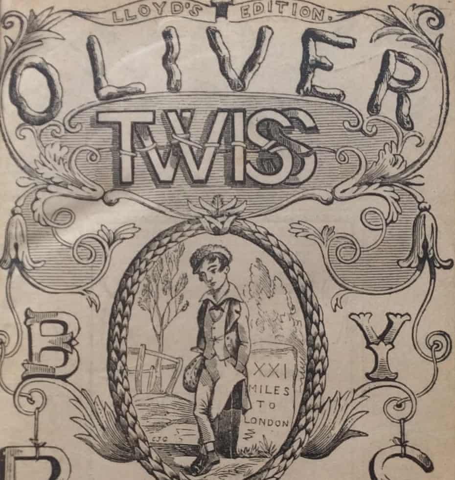 Weird doppelganger … Edward Lloyd's Oliver Twiss.