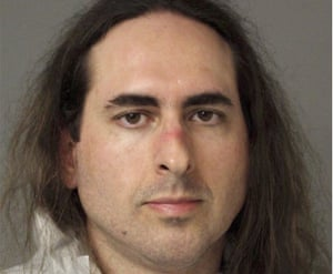Photo released by the Anne Arundel Police of Jarrod Ramos, the suspect charged in the killing of five people at the Capital Gazette paper.