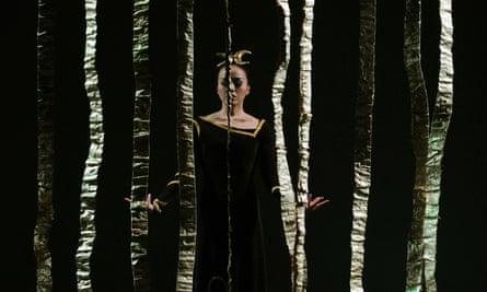 Fang-Yi Sheu in the Martha Graham Dance Company's Clytemnestra, New York, 2009.