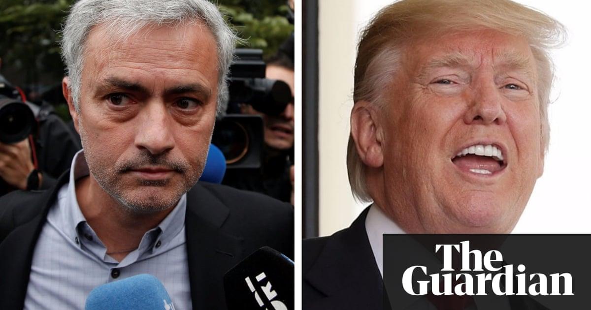 Jose Mourinho or Donald Trump: who said here today?