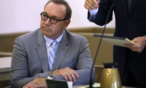 Kevin Spacey at a pretrial hearing in Nantucket in June.