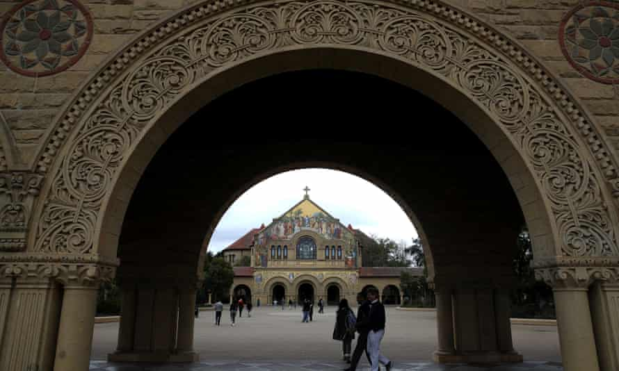 Stanford University in California, one of the universities named in the case.