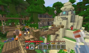Minecraft mini-games coming to Xbox, PlayStation and Wii U