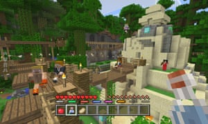 Game changer … Minecraft has fostered a subculture among autistic people because it provides a kind of social interaction
