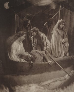So like a Shatter'd Column lay the King' (1875) by Julia Margaret Cameron