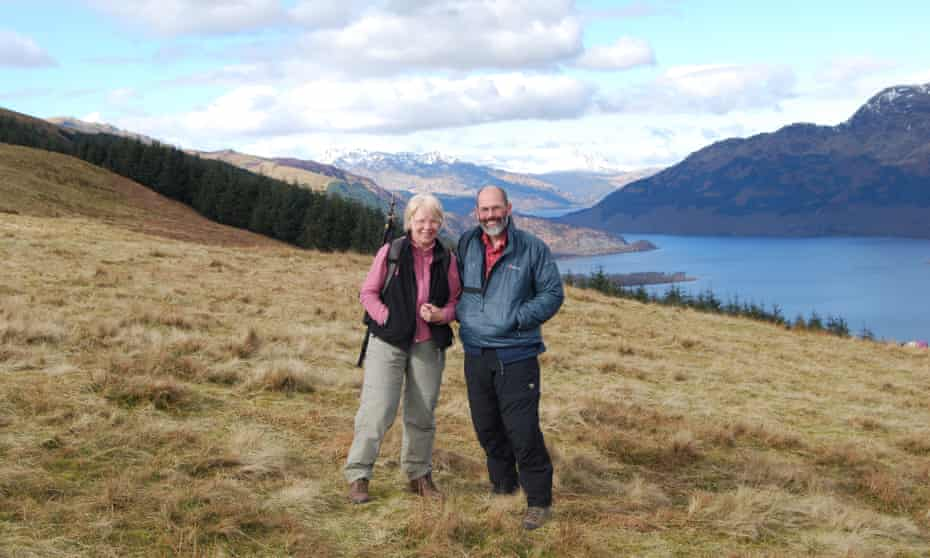 Guides John and Anne Urquhart.