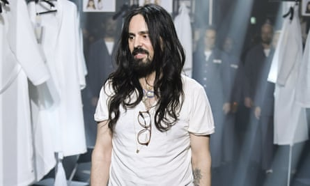 Gucci S Creative Director Fashion Is Not Only About Garments Milan Fashion Week The Guardian
