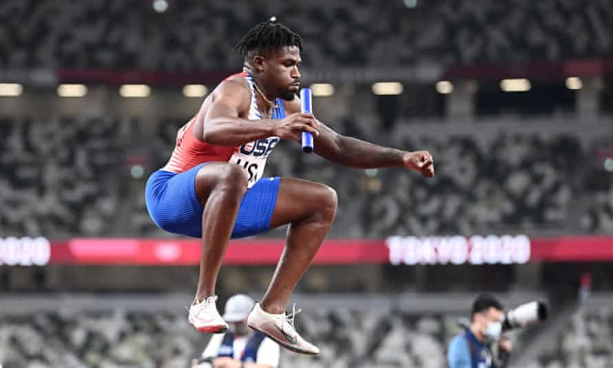 Elija Godwin - recovered from his javelin accident and ready to compete at the Olympics