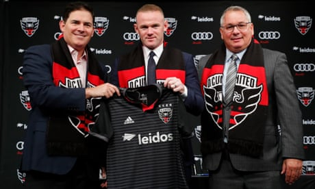 Wayne Rooney dismisses 'unfair' World Cup question at DC United unveiling