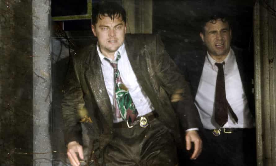 Leo and Mark Ruffalo in Shutter Island (2009).