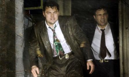 Leonardo DiCaprio and Mark Ruffalo in the film of Shutter Island.