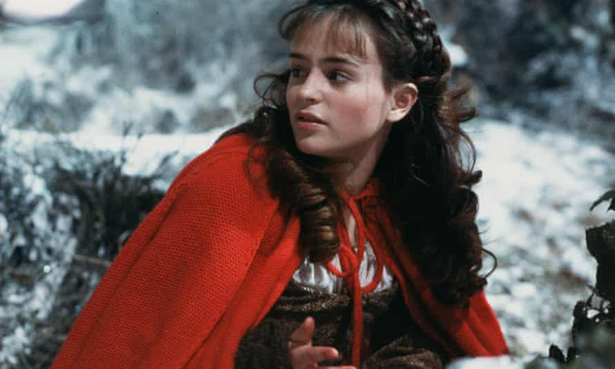 Sarah Patterson in the 1984 film of The Company of Wolves.