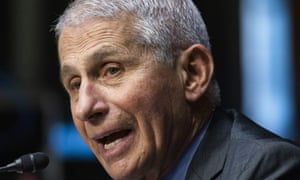 """Dr Anthony Fauci, director of the National Institute of Allergy and Infectious Diseases, has said it is """"entirely conceivable"""" that Americans will need a booster shot."""
