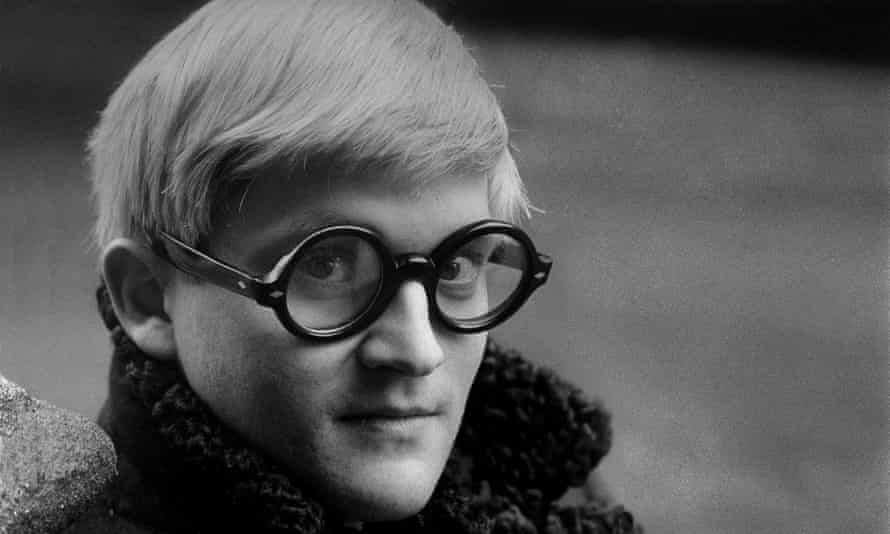 David Hockney in London, 1966.