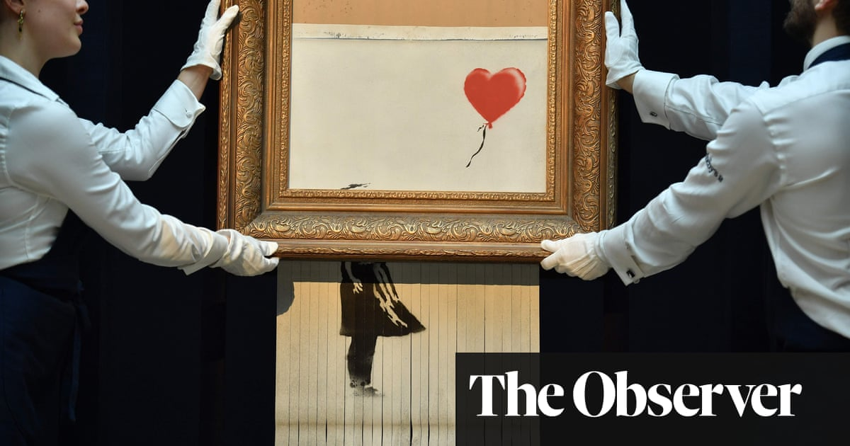 Shredded Banksy Was Sothebys In On The Act Art And Design The