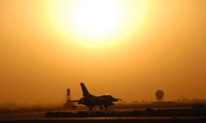 The Iraqi military said the F-16 raids achieved 'important results, and will 'impact future operations'.