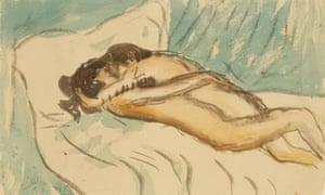 Pablo Picasso's Etreinte (1901)