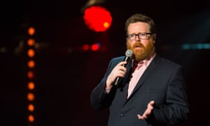 Horrible in comically baroque style … Frankie Boyle.