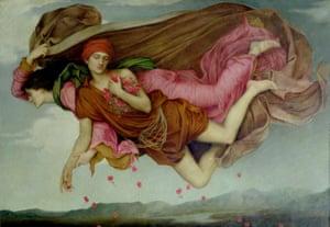 Night and Sleep by Evelyn De Morgan.