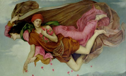 Night and Sleep by Evelyn De Morgan.