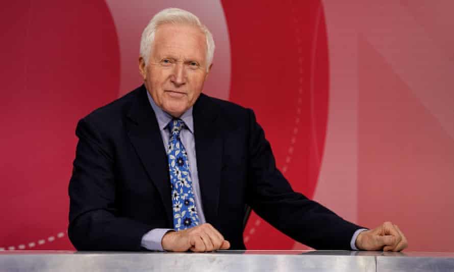 David Dimbleby says Boris Johnson wants to bring the BBC 'to heel'.