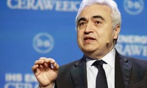 Fatih Birol, the executive director of the International Energy Agency