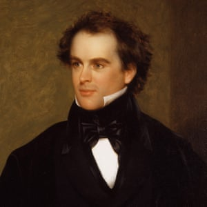 A 1840 portrait of the writer Nathaniel Hawthorne.