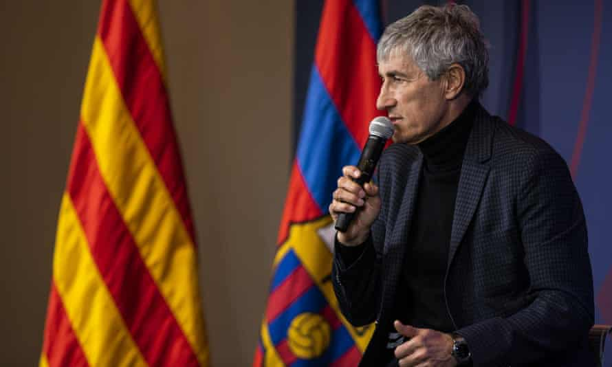 Quique Setién has a thin CV but his teams play with a philosphy of possession and the importance of being pleasing to watch.