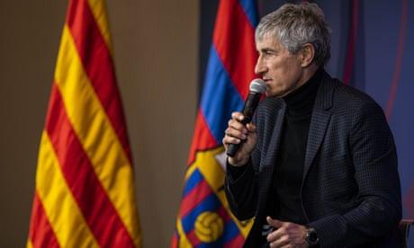 Quique Setién summons spirit of Johan Cruyff to inspire Barcelona | Sid Lowe