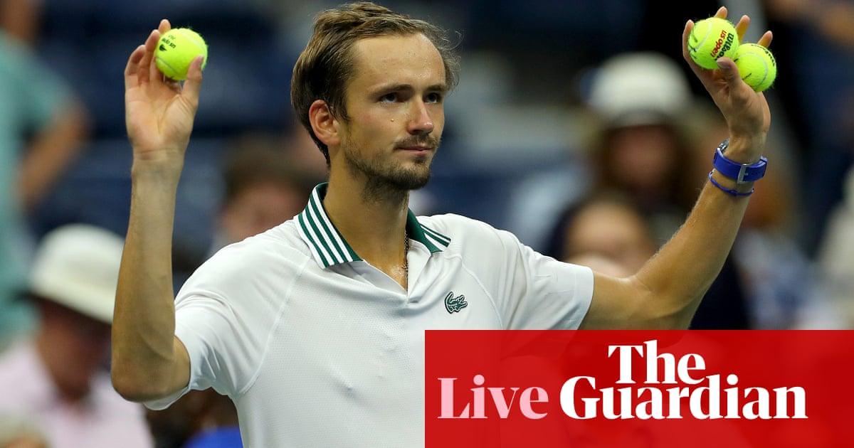 US Open 2021 quarter-final: Botic van de Zandschulp v Daniil Medvedev – live!