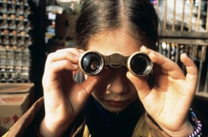 Michelle Trachtenberg as Harriet the Spy in the 1996 film adaptation of the book by Louise Fitzhugh.