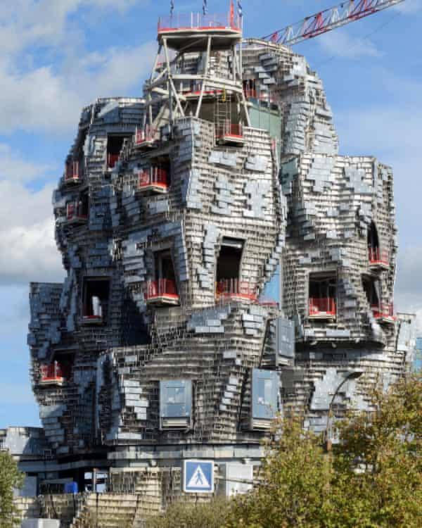 True to form ... Luma Arles takes shape.