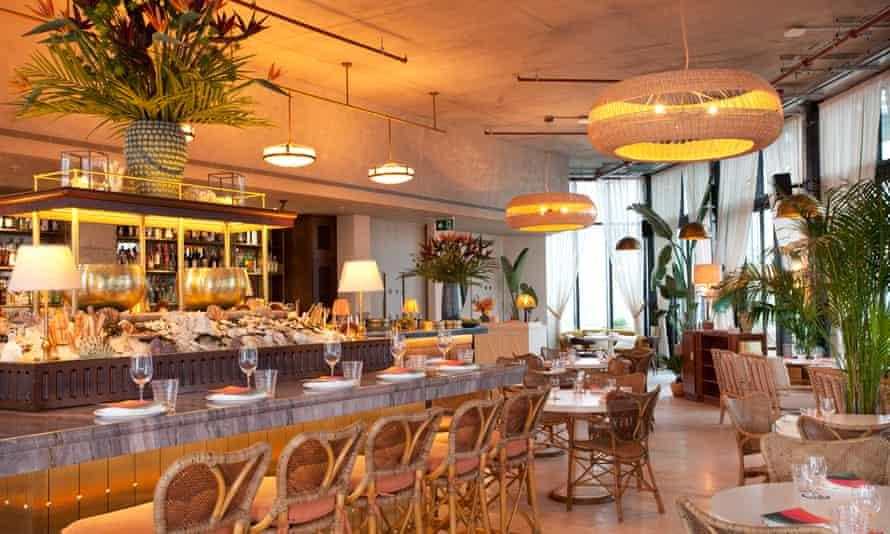 'Faux beachside cabin': Seabird, Hoxton Hotel Southwark.
