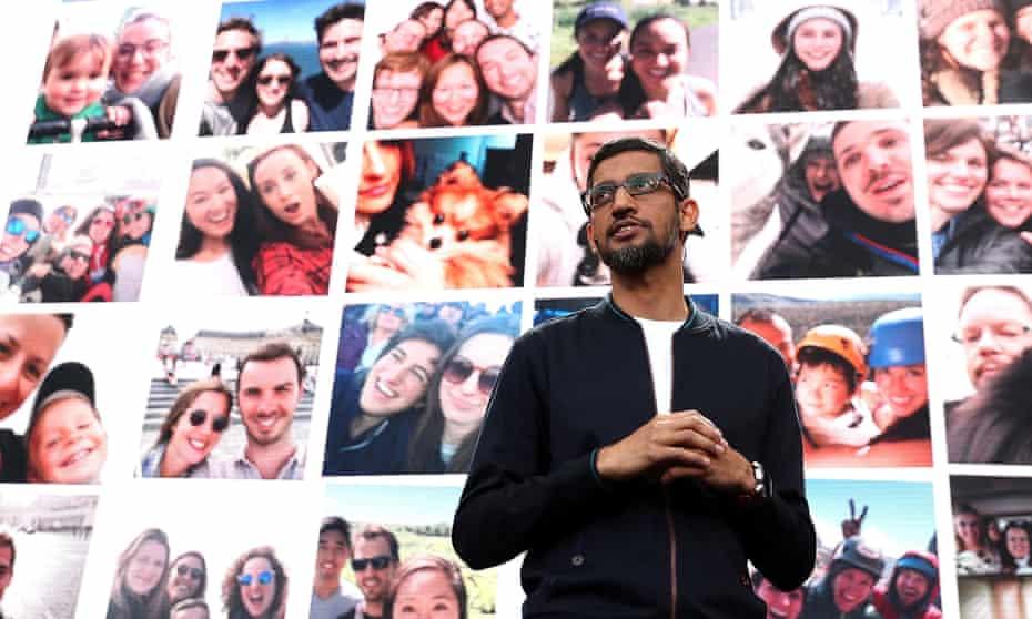 Google's CEO, Sundar Pichai.
