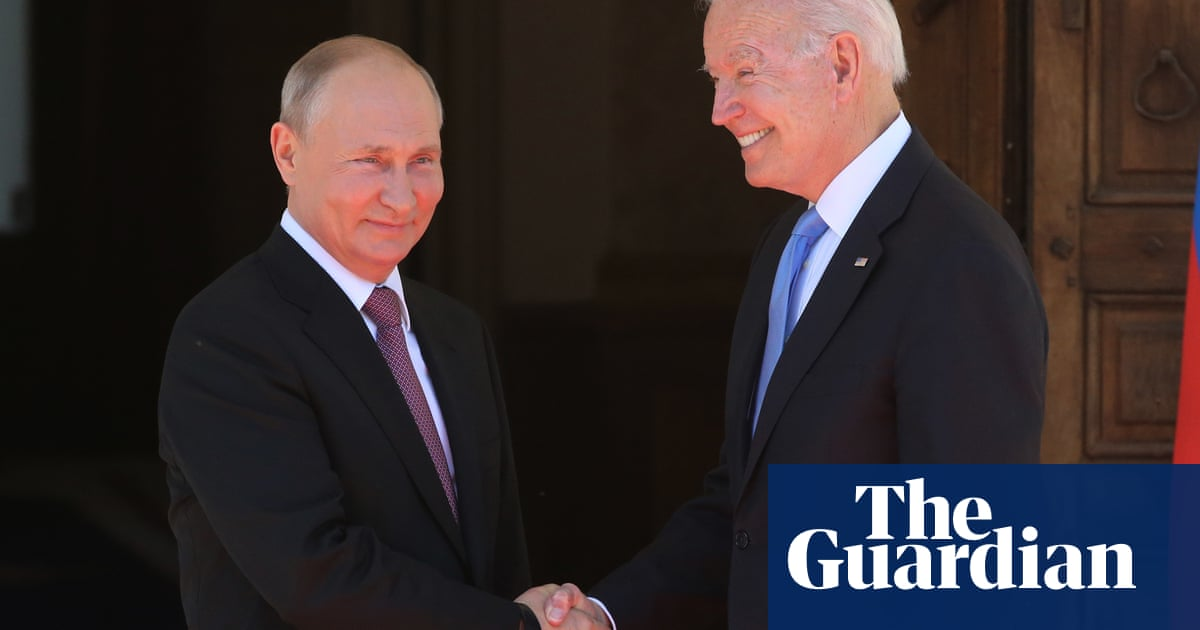 Russian war games set stage for Biden and Putin's head-to-head