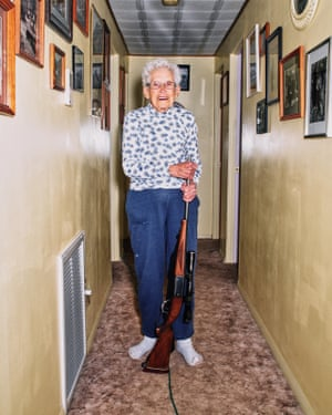 'Every once in a while someone in Nucla does something that gives us national attention, and all you can do is just laugh and go on about your business,' town historian Marie Templeton says. 'Everyone has a gun in their house anyhow'