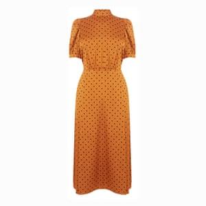 The afterhours dress A fun but chic polka dot; £65, warehouse.co.uk.