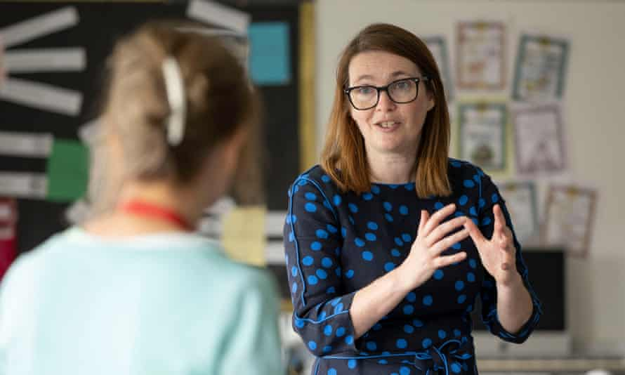 Wales's education minister, Kirsty Williams