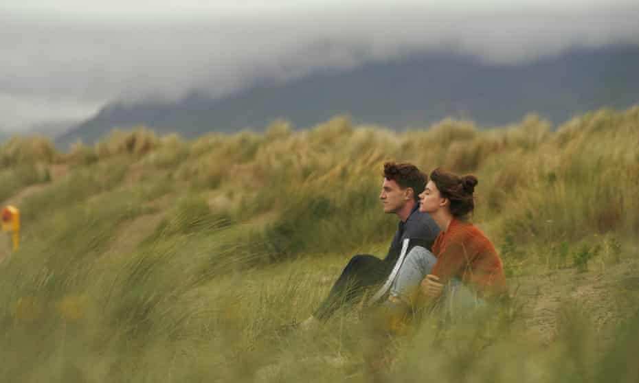 Paul Mescal (Connell) and Daisy Edgar-Jones (Marianne) in a scene from the BBC Three adaptation of Sally Rooney's novel Normal People.