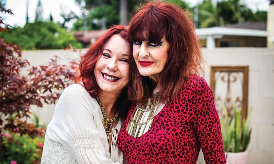 Miss Mercy with Pamela Des Barres, 2017